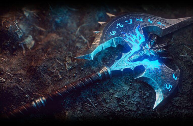 Consigue el arma legendaria Agonía de Sombras
