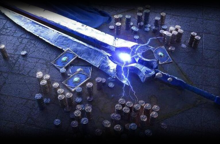Consigue el arma legendaria Trueno Furioso, espada bendita del Hijo del Viento