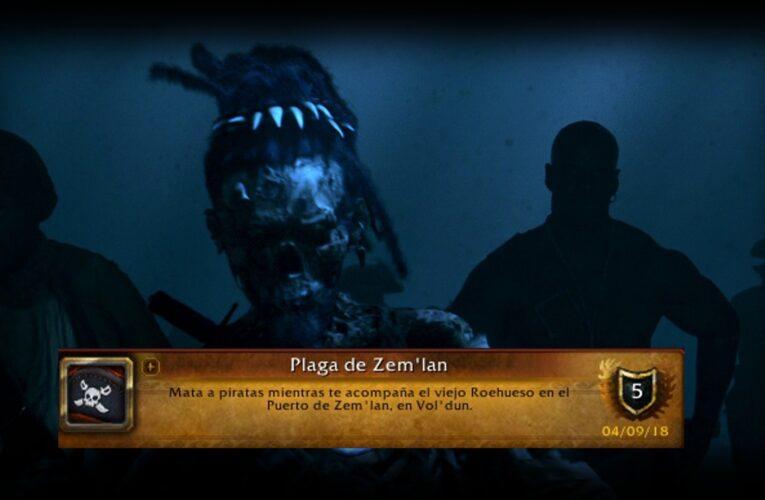 Guía del logro – Plaga de Zem'lan