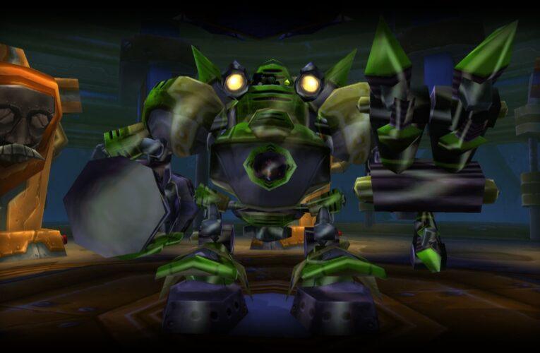 Fin-geniero Ejeomega: El boss oculto de Gnomeregan y su juguete