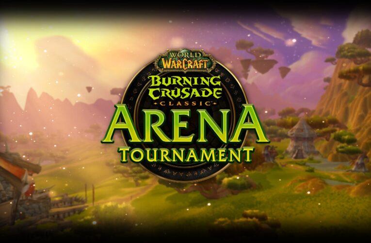 ¡Regresad a Terrallende con el Burning Crusade Classic Arena Tournament!