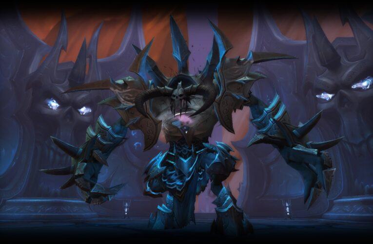 Shadowlands: avance de banda del Sagrario de Dominación