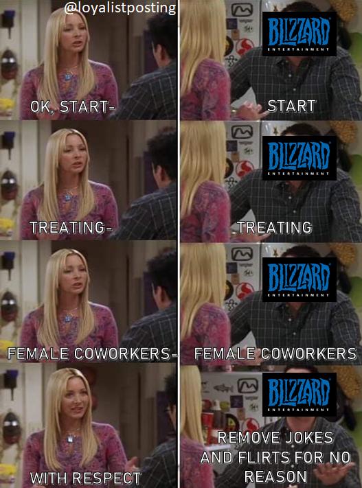 Indignación después de que Blizzard elimine más bromas del juego